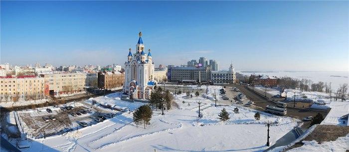 Хабаровск зимой. Фото: Anastasia Rubanenko