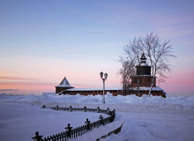 Нижний Новгород зимой. Фото: Dara Pilyugina