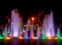 "Fountain ""Mirror stream"" Фонтан ""Зеркальная струя"""