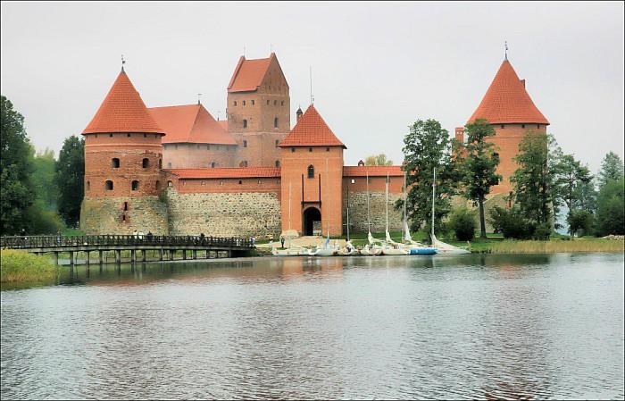 Trakai, Lithuania, Island Castle