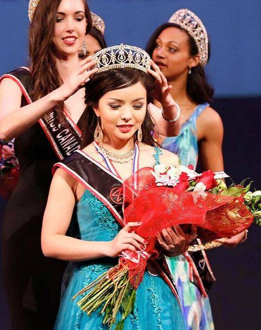 Анастасия Лин - мисс Канада 2015