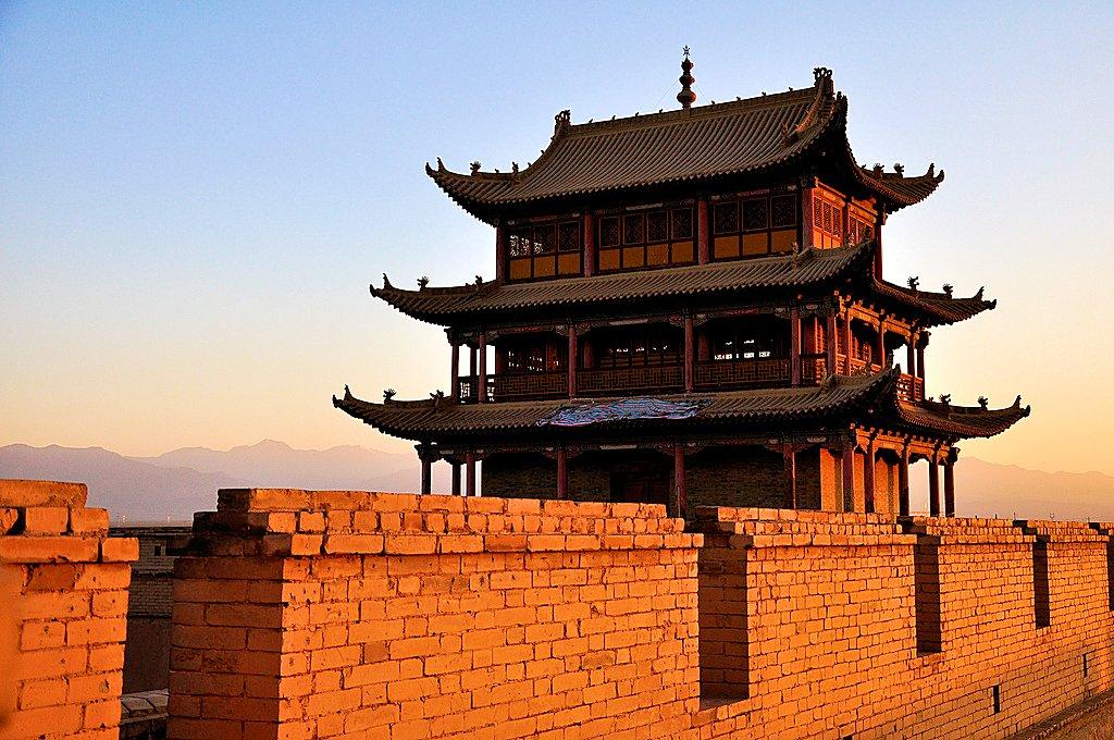 Архитектура древнего Китая. Jiayu Pass