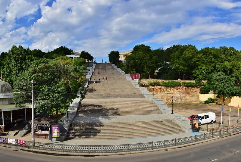 Потёмкинская лестница в Одессе. Фото: Rostam Novák