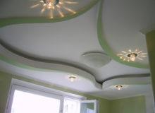 Вариации на тему гипсокартона. Отличный потолок!