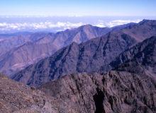 Вид с вершины Тубкаль. Фото: MARTIN FOSTER