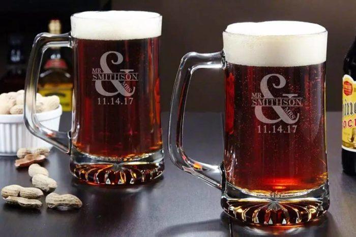 Пивная кружка с логотипом на заказ