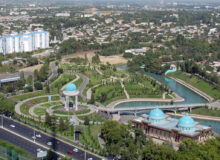 Узбекистан поддерживает своих. Ташкент. Фото: Globespotter