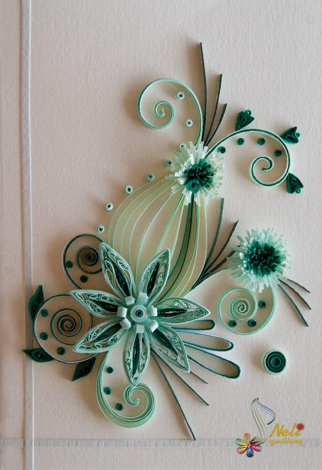 Квиллинг картинки для начинающих цветы 7