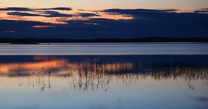 Белые ночи Финляндии.