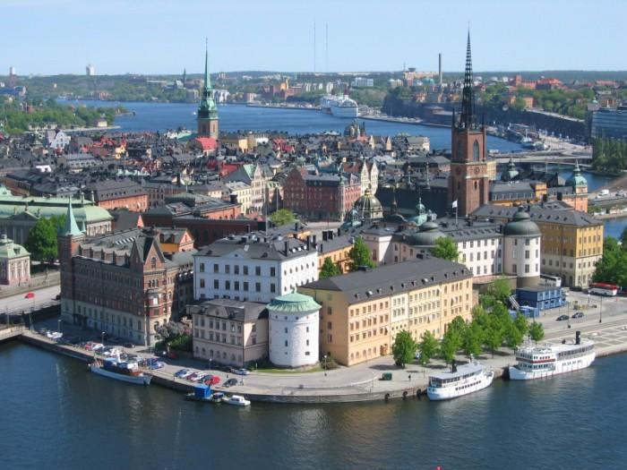 Вид Хельсинки.