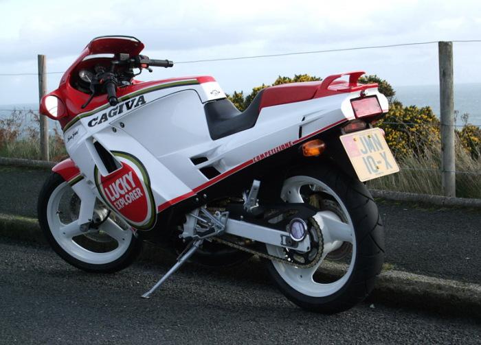 Мотоцикл Cagiva. Фото: 125stradali