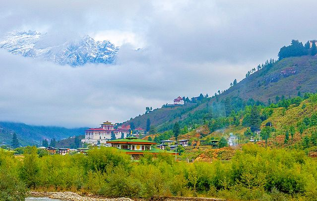 Бутан. Автор фото: Pierre Le Bigot