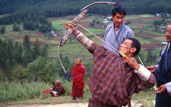 Стрельба из лука в Бутане