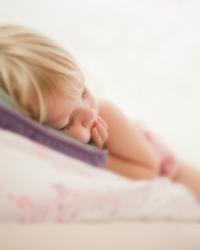 girl_ sleeps