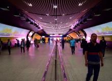 Shanghai metro, китайское метро
