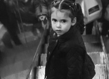 девочка в метро, girl in metro