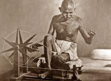 Махатма Ганди. Фото из архива ашрама Сабармати, Ахмедобад, Индия