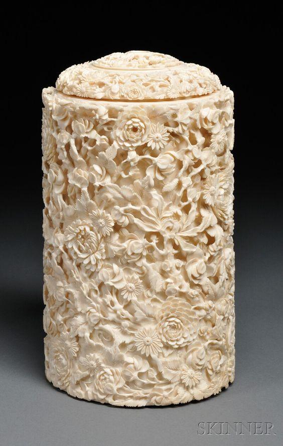 Резьба по кости. Ivory.